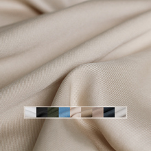 The Cloth 375gm weight Soft Twill Tencel Cotton Fabrics Materials Autumn Women Windcoat Pants Sewing Cloth Freeshipping