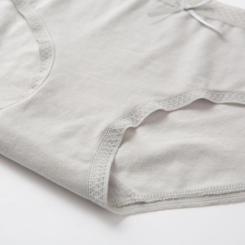 Hot Sale Women's Cotton Casual Panties Solid Low-Rise Student Girls Briefs Breathable Lingerie Comfortable Ladies Underpanties