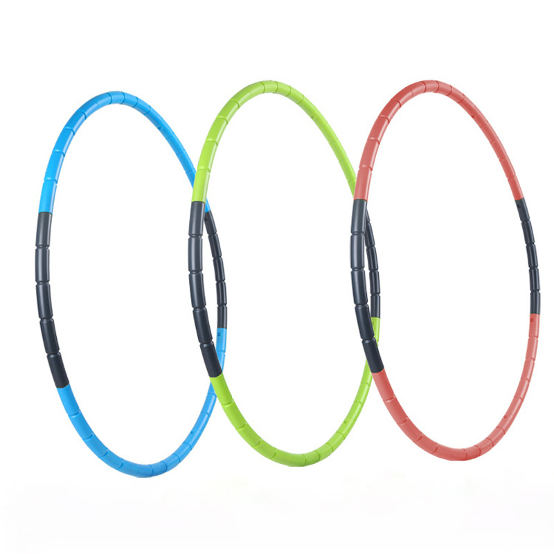 60 70cm Weight Loss Circle Abdominal Massage Hoop Bodybuilding Removable Gymnastics Ring Home Exercise Equipment Sport Hoop