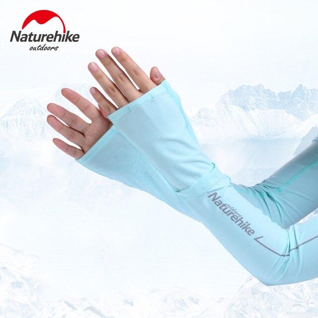 Naturehike наружные теплые рукава длинные перчатки защита от солнца УФ Защита рук защитный чехол рукава ледяной шелк солнцезащитные рукава