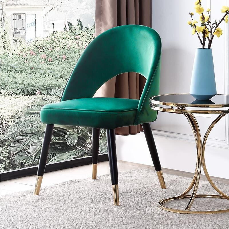 Modern Nordic Dining Chair Personality Chair Light Luxury Lounge Chair Coffee Sofa Negotiation Computer Chair