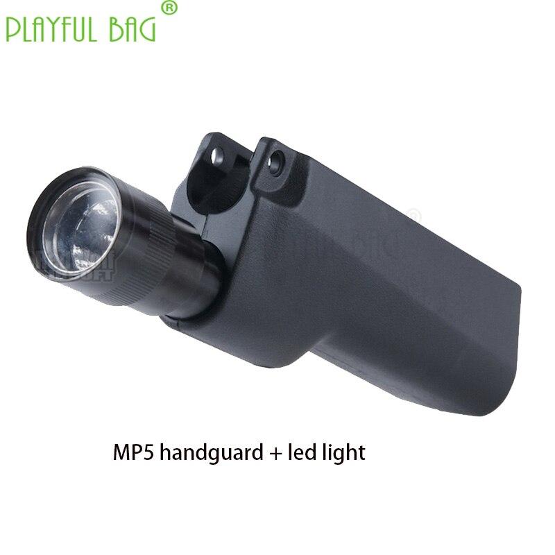 Outdoor Sports Fun Toys LDT JiQu MP5 Full-stroke Live Action Cs Electric Burst Water Bullet Gun Flashlight Handguard RD05