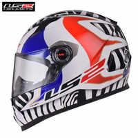 2018 Full Face Motorrad Helm LS2 FF358 Capacete Casco Casque Moto Kask Helme Helm Caschi Für Motorsiklet