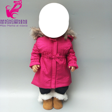 doll new clothes  coat set for 43cm down jacket 18 girl children gifts