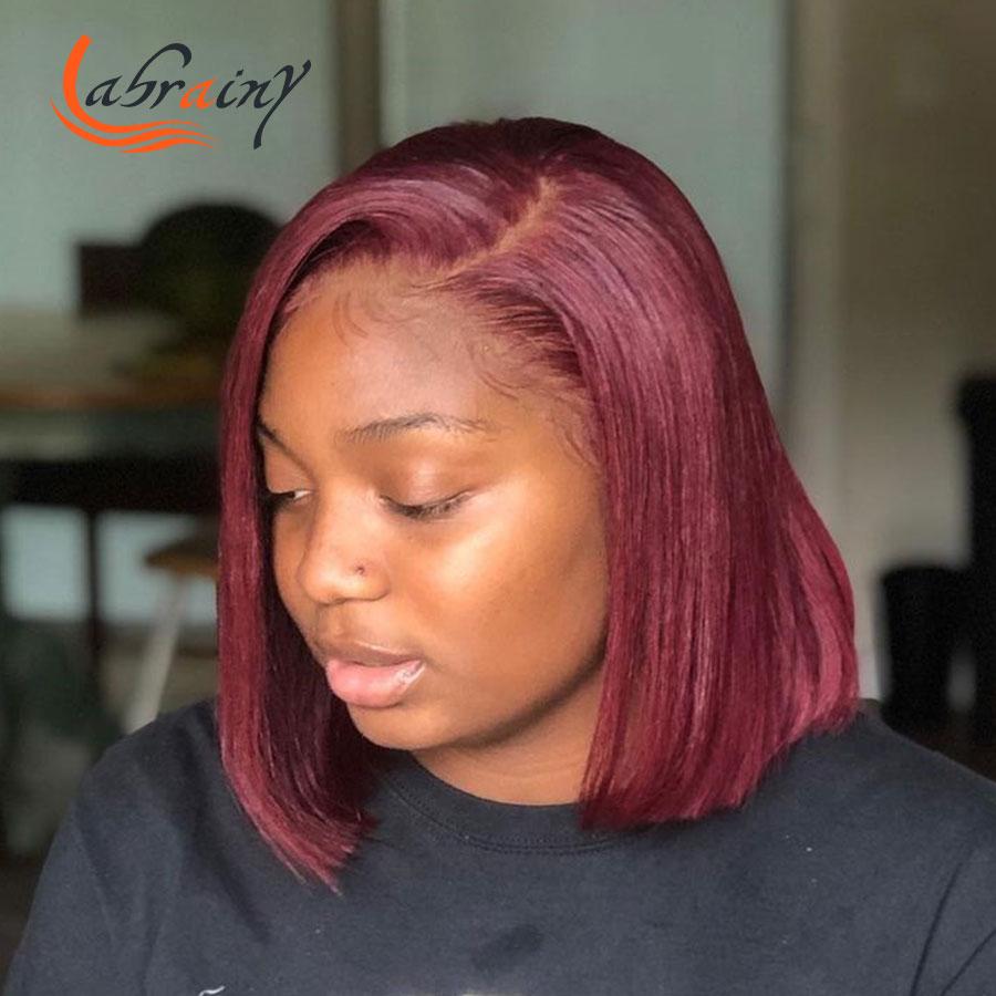 peruca de cabelo humano pré arrancado vermelho