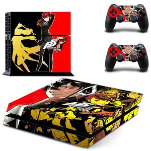 Persona 5 Royal PS4 Skin Sticker Decal For PlayStation 4 Console & Controllers PS4 Skin Sticker Vinyl