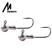 MEREDITH 1g 2g 3g 5g 7g 10g 18g 22g Crank Jig Head Hook Fishing Hook Lead Head Jig Lure Hard Bait Soft Worm Jig Hook For Fishing hoofish 20pcs lot lead jig head fishing hook for soft fishing lure 10g 7g 5g 3g soft lure hooks bait hooks single hook