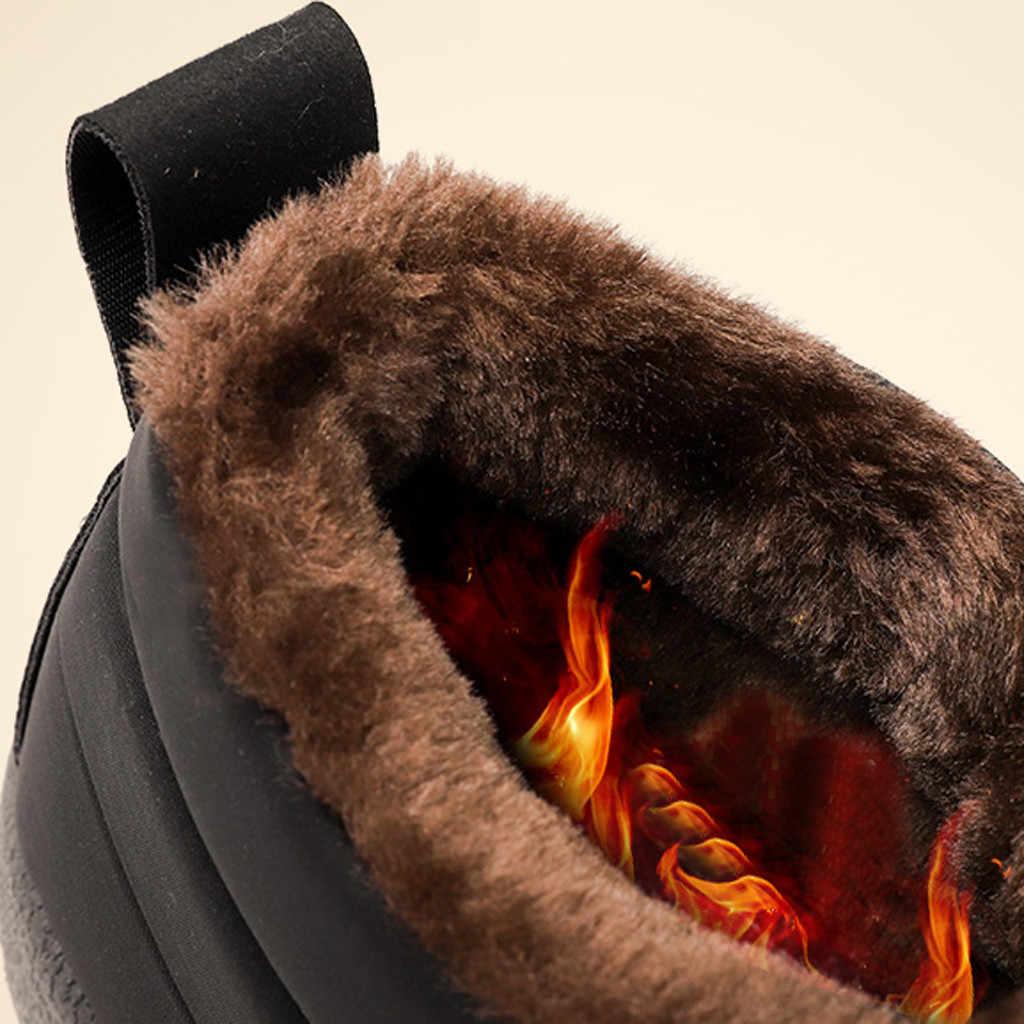 2019 femmes bottes de neige chaud fourrure courte peluche hiver bottines plate-forme dames bottes femmes chaussures confortables chaussures chaudes #917