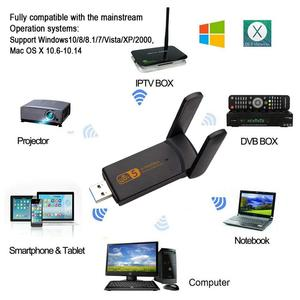 Image 3 - USB3.0 無線 Lan アダプタ 1900 300mbps のデュアルバンド 2.4Ghz + 5.8 1.2ghz の Wi Fi ドングルコンピュータ 802.11AC ネットワークカード USB 2 アンテナハイスピード