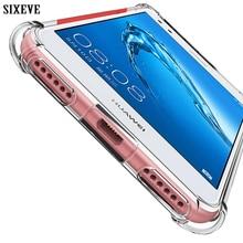Luxury Clear Silicone Soft Coque For P20 Lite Case P9 P10 P3