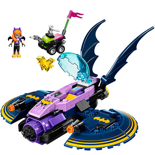 bela Super Hero Girl Batgirl Batjet Chase Model Building Block Bricks Toys Wonder Woman 41230 10615 Christmas birthday Gifts image