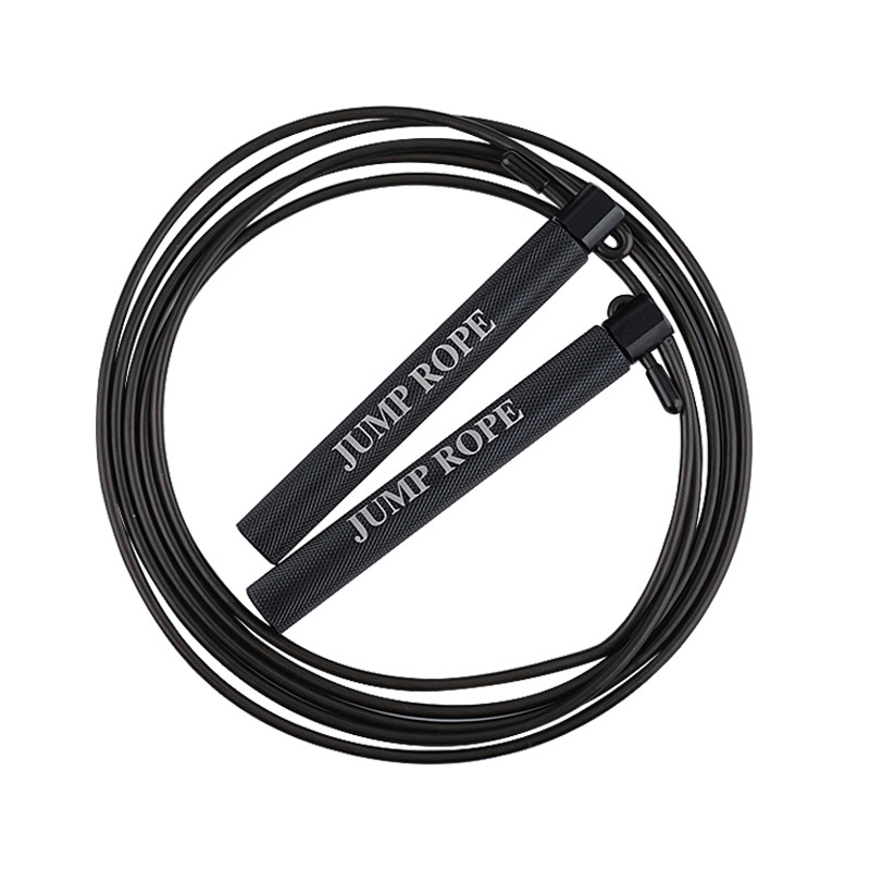 Aluminium Alloy Race Game Steel Wire Jump Rope   Students The Academic Test For The Junior High School Students Only Fitness Fem