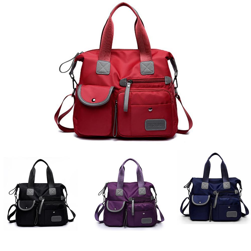 Portable Travel Bag New European And American Fashion Ladies Mummy Bag Nylon Shoulder Bag
