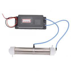 110V 3G Tube Ozone Generator Home Air Purifier Water Purification Sterilization Disinfection Machine DIY