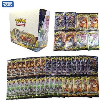 324pcs card Pokemon TCG: Sun & Moon UNBROKEN BONDS Trading Card Game A Box of 36 Bags Collection