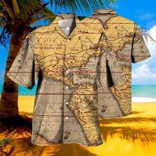 Men s Shirts Summer Clothes Hawaiian Shirts Cardigans Eden Retro Shirts Promotional Hawaiian Shirts Men s Luxury Men s Tops 4XL