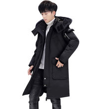 2019 New Men #8217 s Winter Jacket Long Men #8217 s Coat with Zipper Hooded Male Coats High Quality Man Winter Brand Clothing 896 cheap JUNGLE ZONE Thick (Winter) L1929 REGULAR Casual Full Solid Denim NONE Button Pockets Zippers Appliques Polyester Acetate