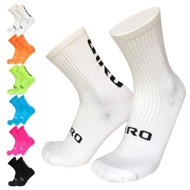 Novo ciclismo meias de bicicleta estrada meias outdoo esporte correndo meias 1