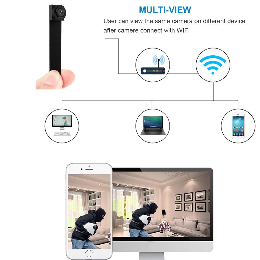 Image 3 - 1080P Wi Fi Wireless Mini Network Camera Surveillance  WIFI Camera  Audio Video Recorder Camcorder Ip Camera  P2P  Micro CamMini Camcorders   -