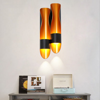 Nordic Wall Lamp Living Room Aisle Bedroom Headlamp Creative Modern Minimalist Stair Wall Sconce Light Fixture LED Vanity Light