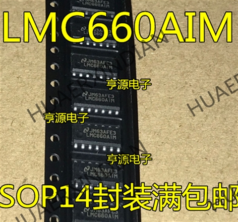 10PCS/LOT New <font><b>LMC660</b></font> LMC660AIM LMC660CM SOP14 New in stock image