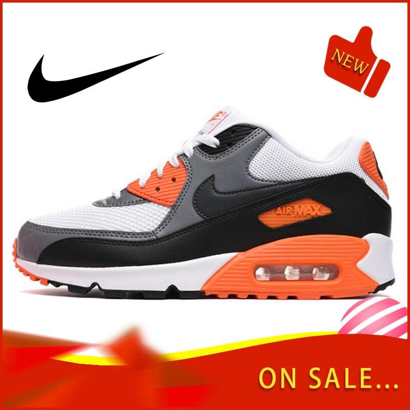 오리지널 정통 NIKE AIR MAX 90 남성 운동화 클래식 아웃 도어 스포츠 신발 편안하고 통기성 537384-128