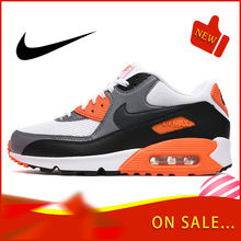 Original Authentic NIKE AIR MAX 90 Men's Running Shoes Classic Outdoor Wear