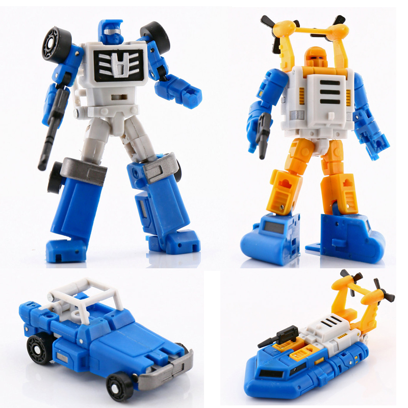 Magic Square MS-Toys Transformation MS-B03 Four Wheel Drive Beachcomber  MS-B05 Surfer Seaspray Action Figure Robot Toys Gift