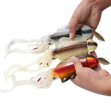 285 г/10 унций бионический кальмар приманка jigs мягкая пластиковая