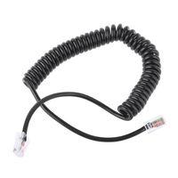 98 8Pin RJ45 to RI45 Speaker Mic Cable Line for ICOM HM-98 HM-133 HM-133V HM-133S (1)