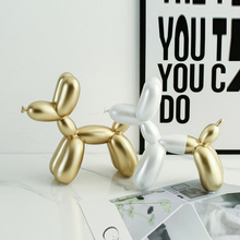 Strongwell Balloon Dog Sculpture Resin Crafts Home Decorations Christmas Gift Cake Party Cute Vintage Decor Desk Decoration