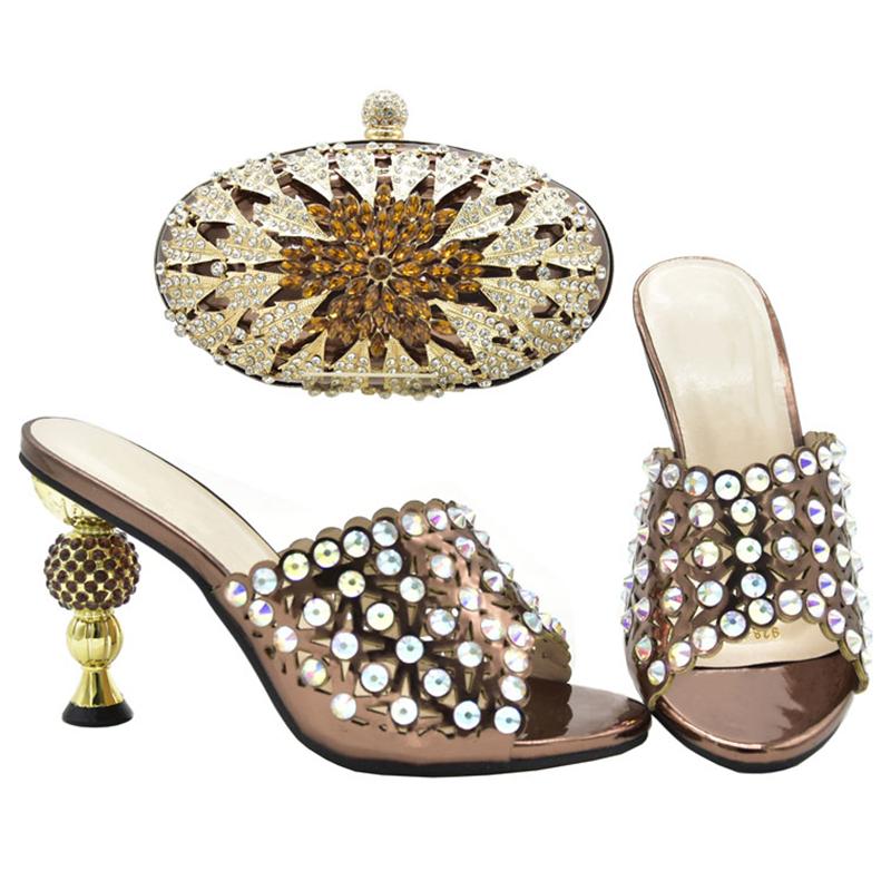 Latest Italian Shoe and Bag Set