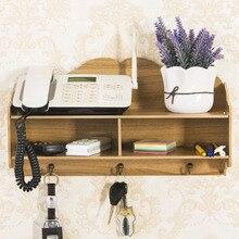 Wood Stationery Holder Storage Box Wooden Wall Shelf Joy Corner