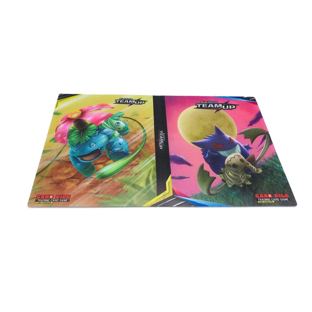 240 шт. держатель Альбом игрушки коллекции pokemones карты Альбом Книга Топ загруженный список игрушки подарок для детей - Цвет: B