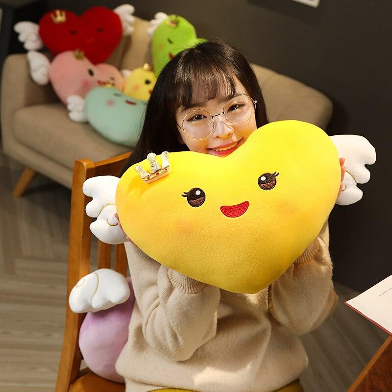 Kawaii Smiley Heart Plush 2