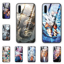 Popular Blood Anime Dragon Ball phone case tempered glass back cover Fo