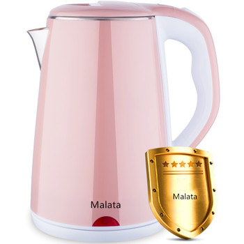 цена на 220V Electric Kettle Stainless Steel 1000W Household Kitchen Food stainless electric kettle double anti-scalding electric kettle