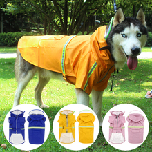 Raincoat Hooded Large Dog Waterproof Soft Functional Universal Breathable