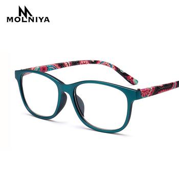 MOLNIYA mężczyźni kwadratowe okulary do czytania prezbiopia kobiety okulary do czytania kobieta mężczyzna okulary do czytania + 1 1 5 2 0 2 5 3 0 3 5 4 0 tanie i dobre opinie WHITE WOMEN Unisex Lustro 5 6cm Cr-39 P255 Octan 3 6cm