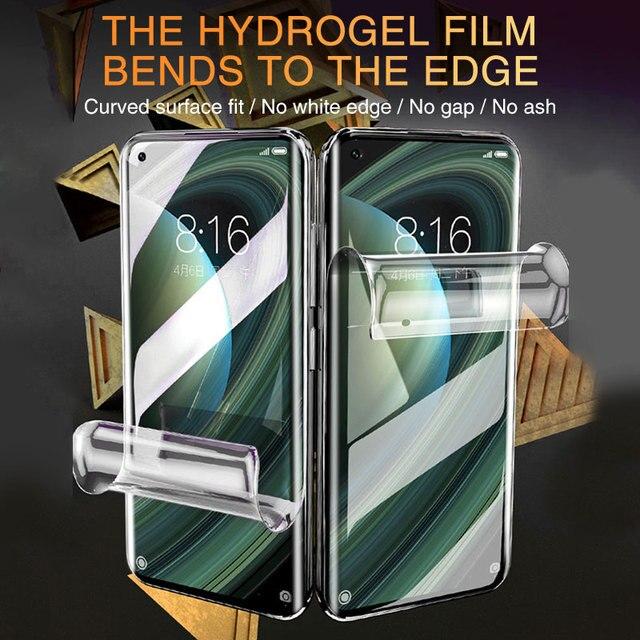 Screen Protector For Xiaomi Mi Note 10 10T Pro Lite Full Cover Hydrogel Film For Xiamo Mi 10 Lite 9 8 SE CC9 Pro A2 MIX 2 S 3 11 6