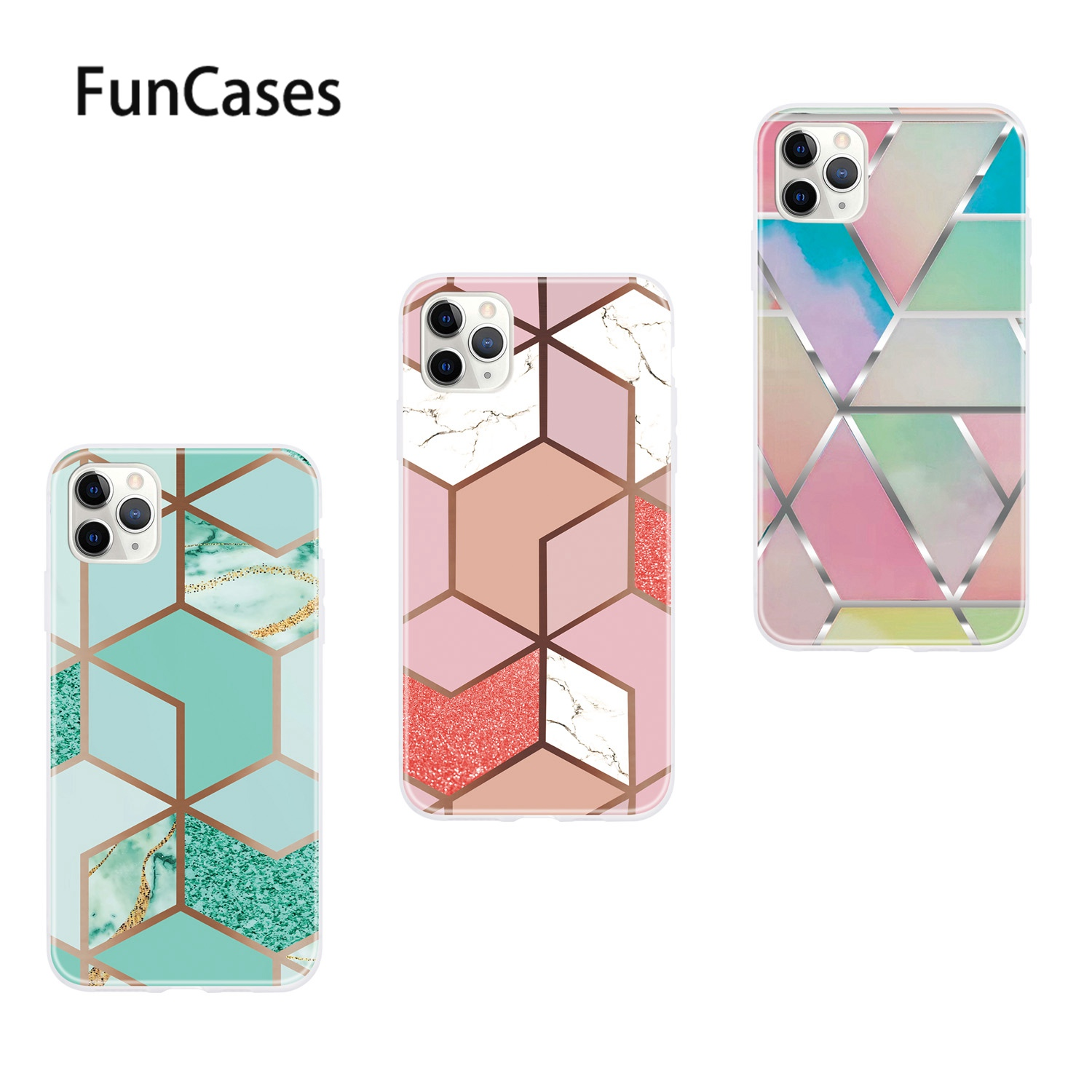 Carcaso <font><b>iPhone</b></font> <font><b>X</b></font> 용 다채로운 소프트 TPU 케이스 Apple <font><b>iPhone</b></font> estojo <font><b>XS</b></font> 8 Plus 11 Pro Max 7 R 6S 6 <font><b>xS</b></font> 소프트 TPU 케이스 보호 image