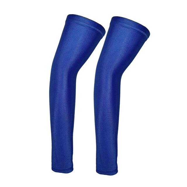 2 pçs luvas de ciclismo esportes braço mangas fitness equitação correndo protetor solar braço manguito legal basquete ciclismo braço almofadas aquecedores 3