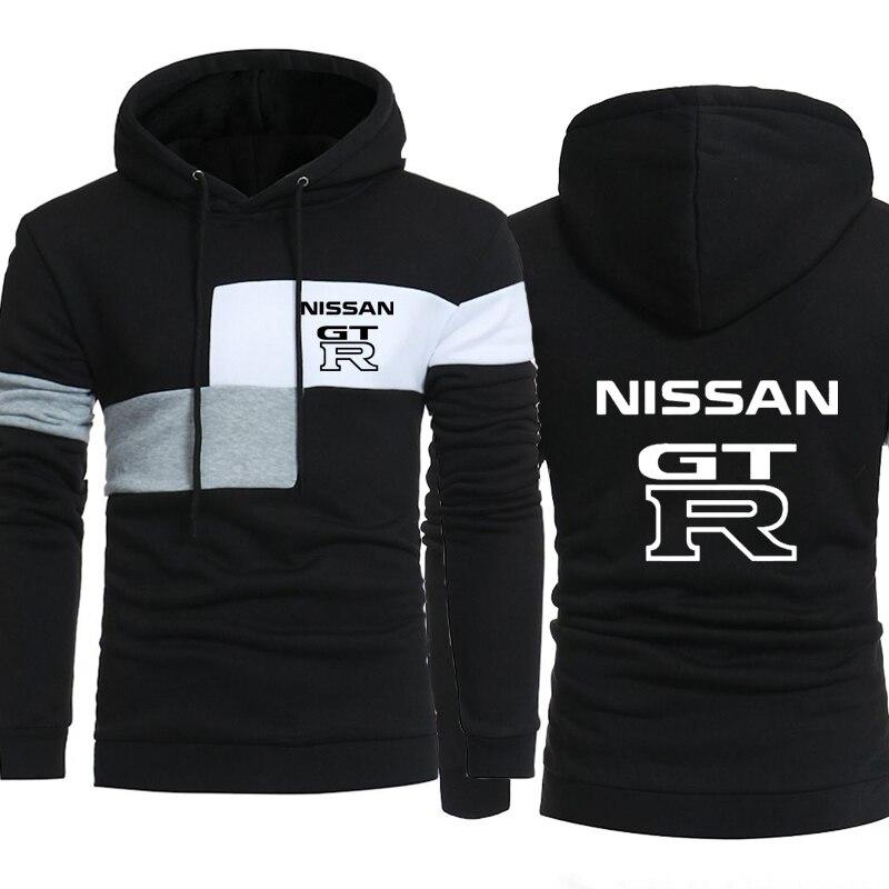 Men Hoodies GTR Car Logo Print Sweatshirt Spring Autumn New Fashion Men Hoodie Hip Hop Harajuku Casual Hoody Fleece Tracksuit