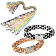 Adjustable Pet Dog Leash Collar Cat Puppy Harness Nylon Lead Walking Rope Belt For Small Medium Large Products