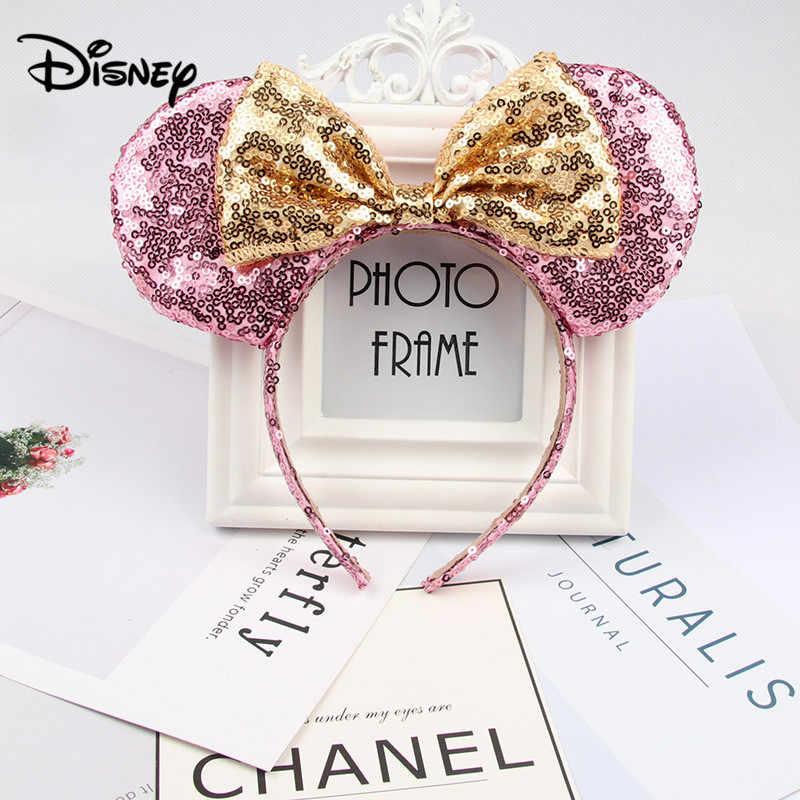 Coreil P/êche Bandeaux oreilles de Minnie Mouse Mikey avec noeud et paillettes pour b/éb/é fille