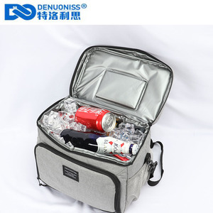 Image 3 - DENUONISS New Waterproof Cooler Bag Refrigerator Thermal bag Oxford 24 Can Large Capacity Thermos Bag Portable Fridge