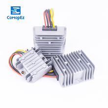 цена на 12V 24V to 5V 3A 5A 8A 10A 15A 20A 25A 30A DC DC Voltage Converter Step Down Buck Module Waterproof Regulator for Golf Carts