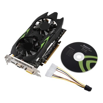 GTX650 TI 4GB GDDR5 128Bit 3000MHz HDMI Graphics Card High Bandwidth DVI Output Gaming Video Card With Built-in Cooling Fan