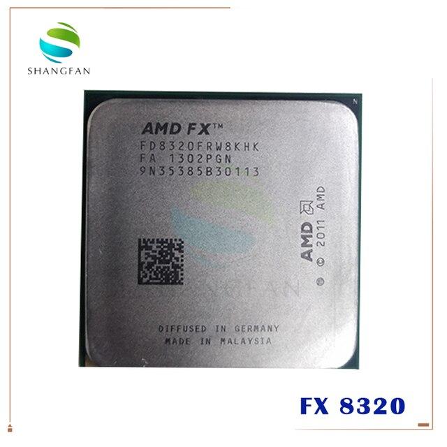 AMD FX Serie FX 8320 FX8320 FX 8320 3,5 GHz Acht Core CPU Prozessor FD8320FRW8KHK Buchse AM3 +