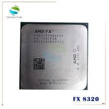 AMD FX Series FX 8320 FX8320 FX 8320 3.5GHz ثماني النواة وحدة المعالجة المركزية FD8320FRW8KHK المقبس AM3 +